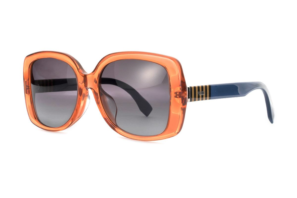 Fendi 高质感太阳眼镜 FF0014FS-OR1