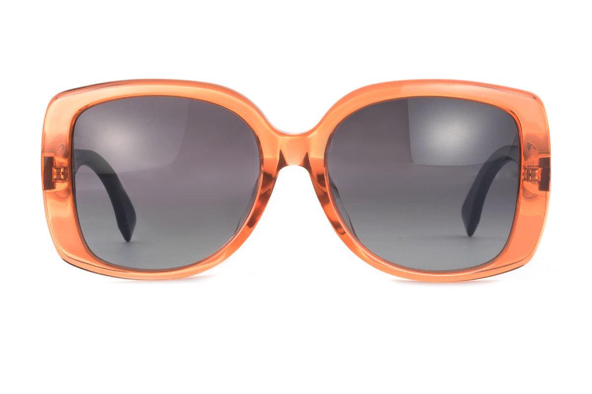 Fendi 高质感太阳眼镜 FF0014FS-OR2