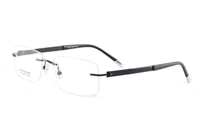眼镜镜框-FG 高质感纯钛镜框 0735-BA