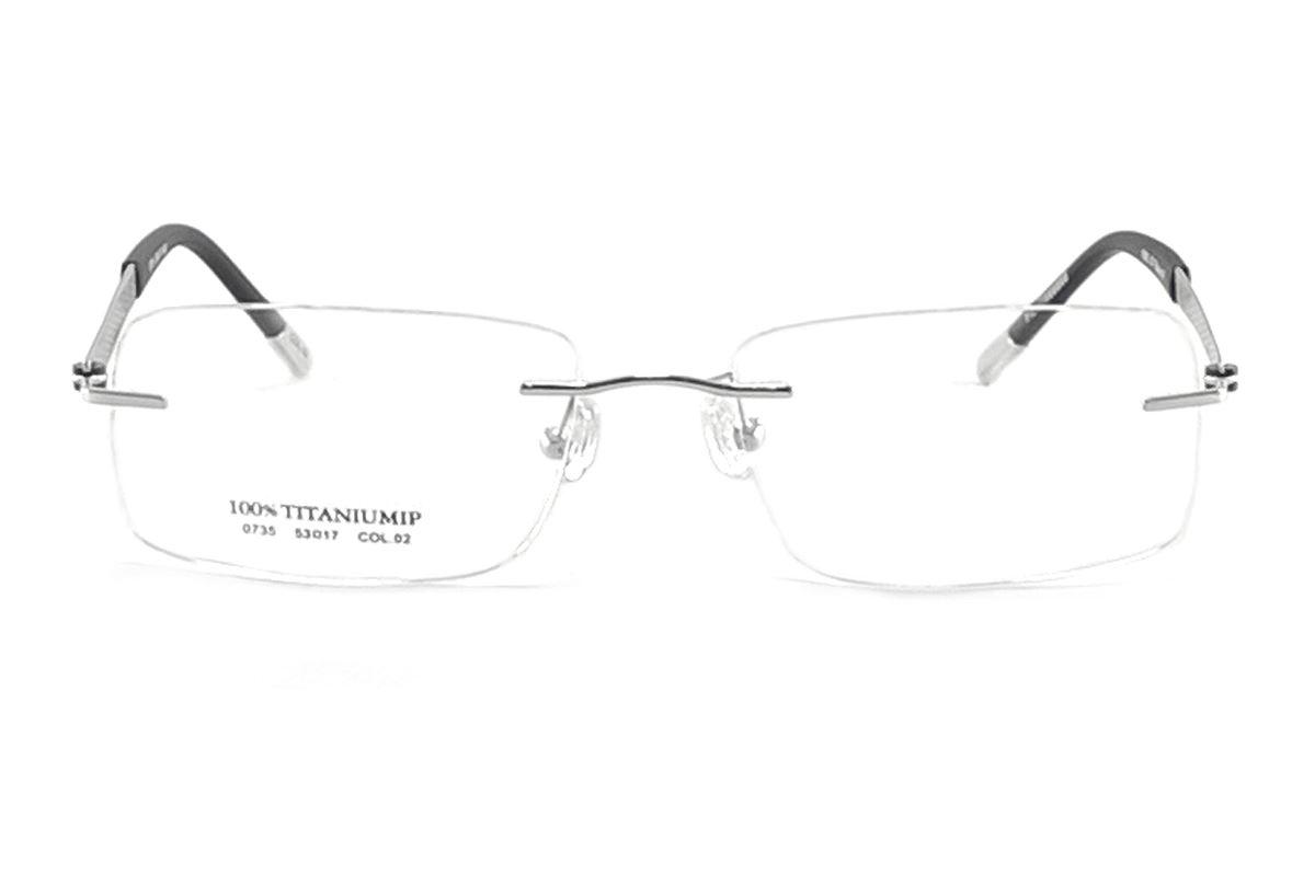 FG 高质感纯钛镜框 0735-SI2