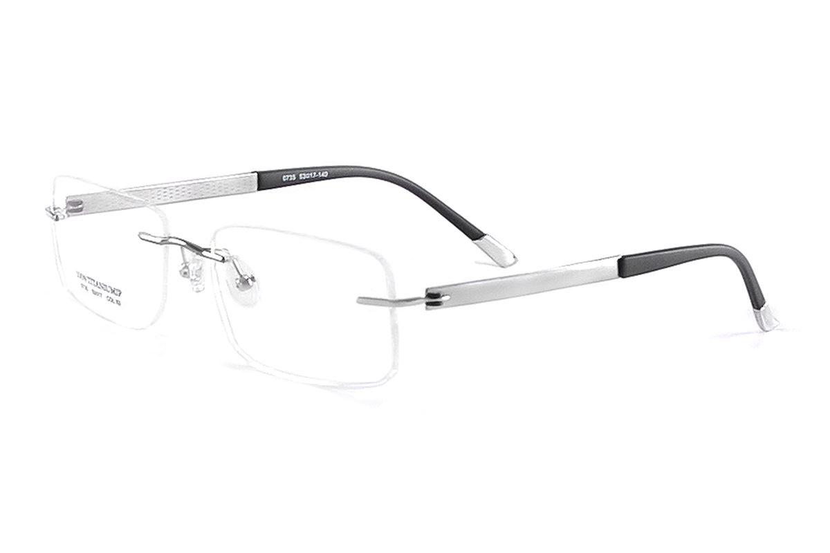 FG 高质感纯钛镜框 0735-SI1