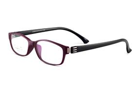 Glasses-FG FG高質感TR膠框(EF8032紅黑)