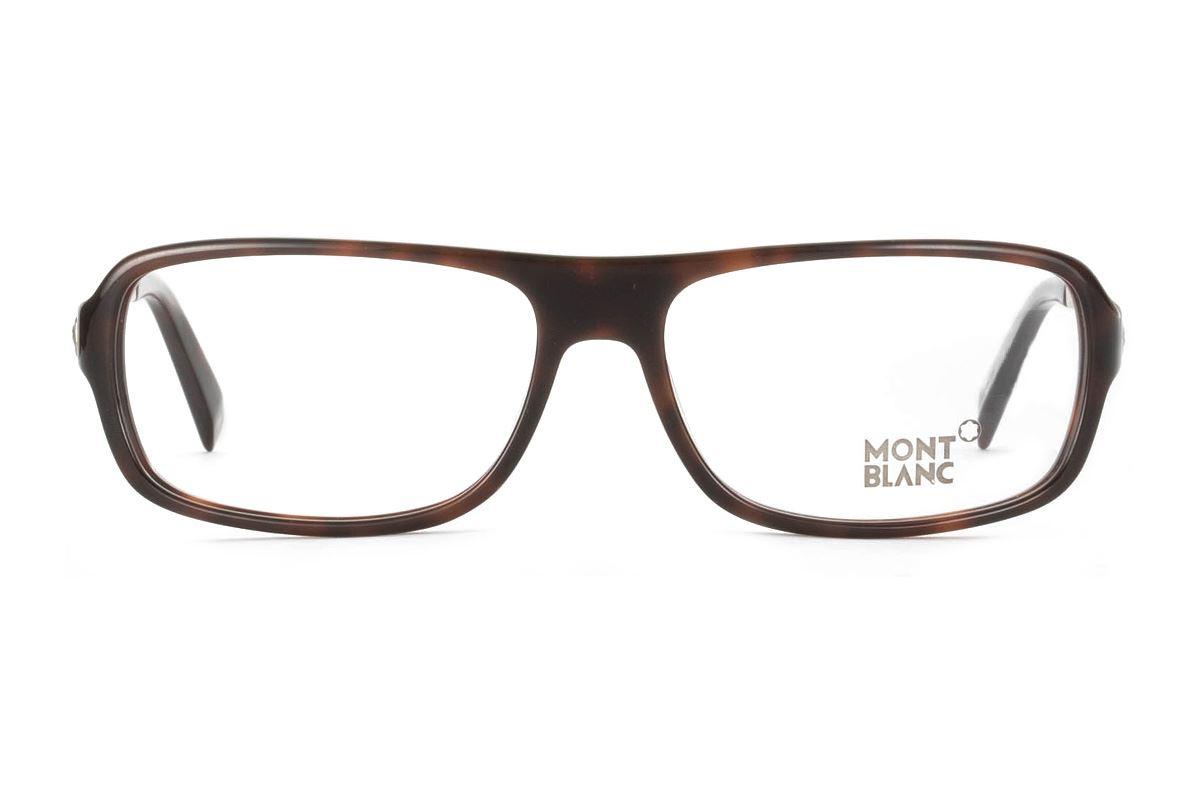 Montblanc 高質感眼鏡 MB445-0522