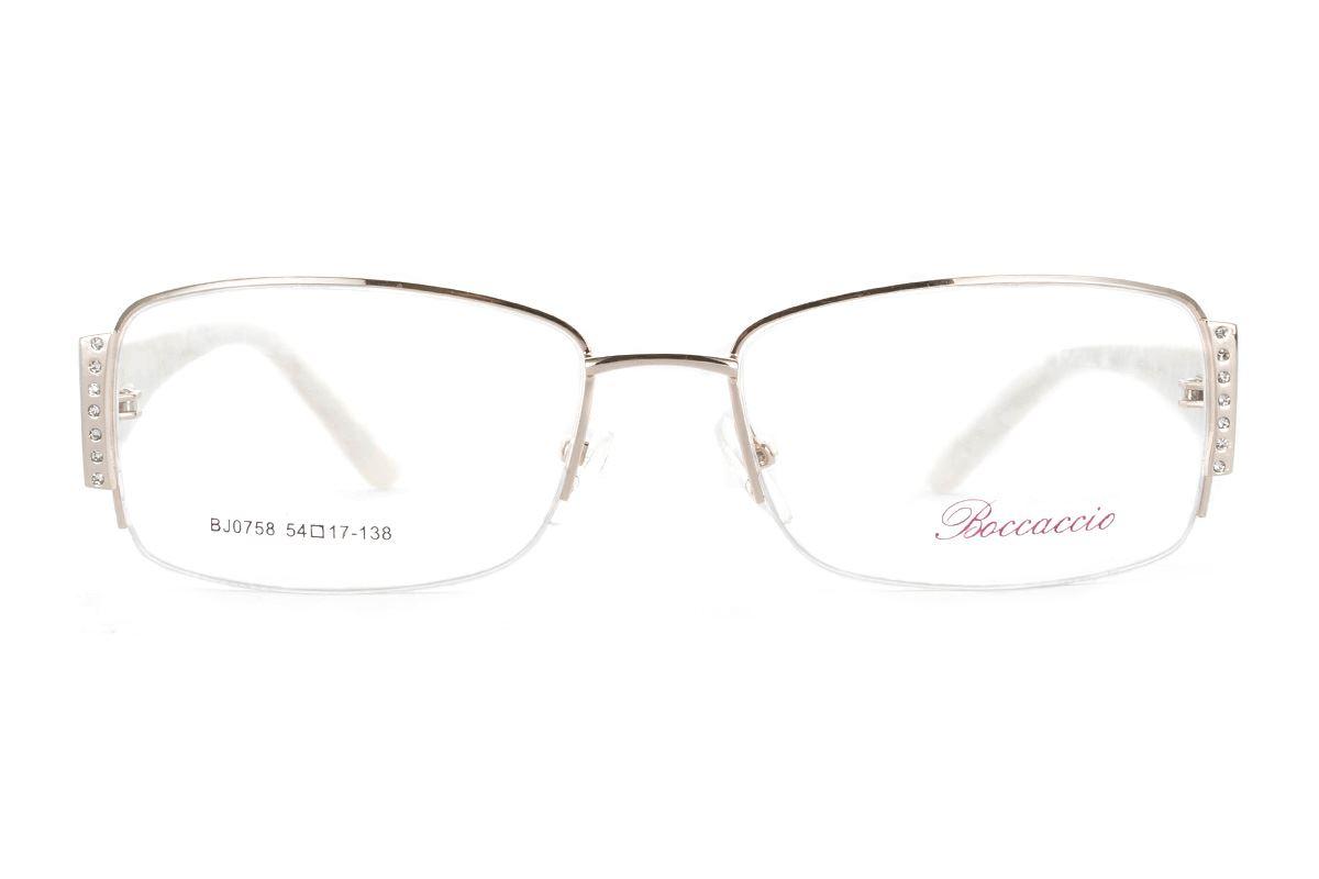 高质感眼镜框 0758-WI2