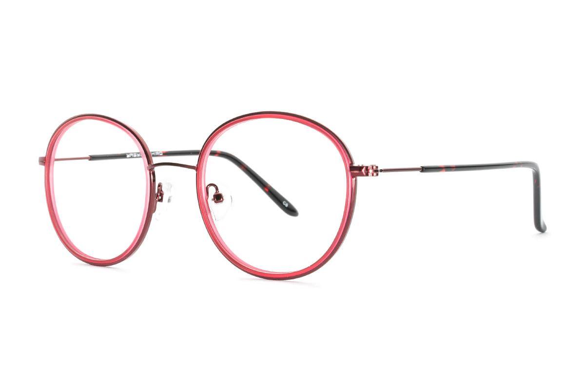 严选质感眼镜 8622-RE1