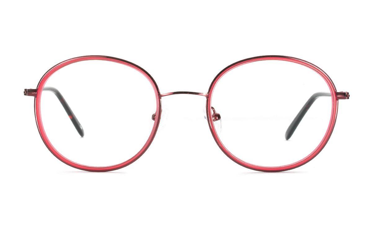 严选质感眼镜 8622-RE2