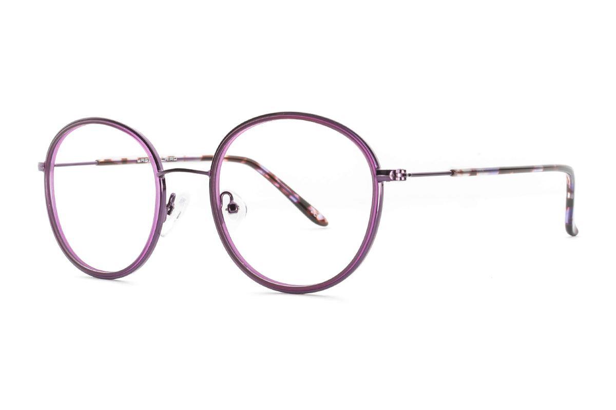 嚴選質感眼鏡 8622-PU1