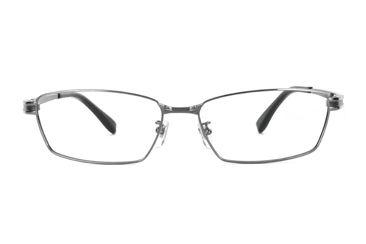 严选高质感纯钛眼镜 11409-C82