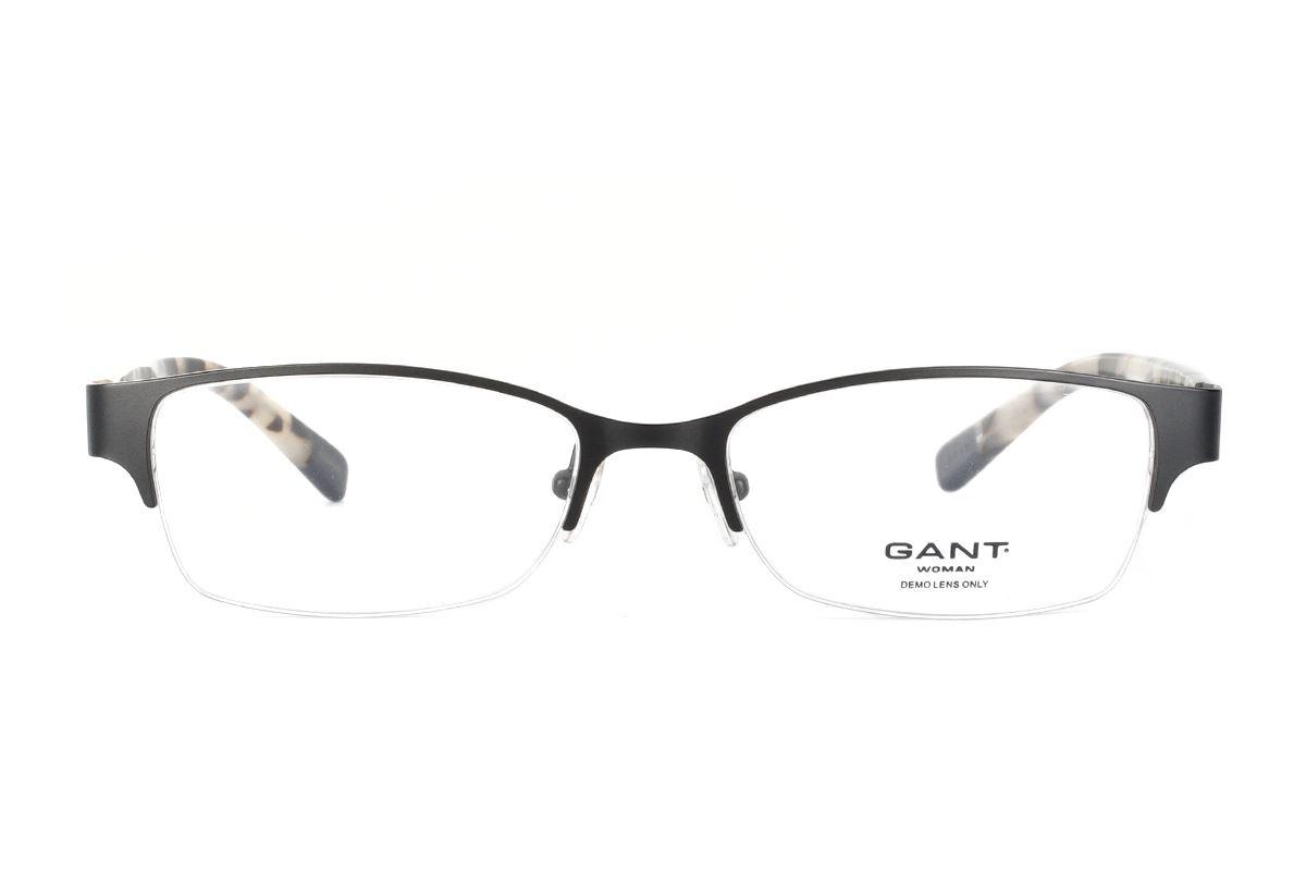 Gant 高質感眼鏡 GWELIZA-SBLK2