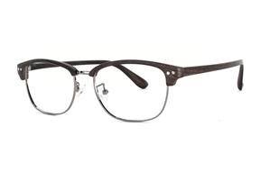 眼鏡鏡框-木質感個性潮框 FUS1349-C4