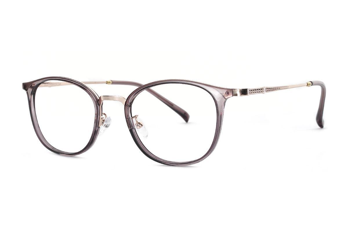 严选质感透明眼镜 FU3460-C81