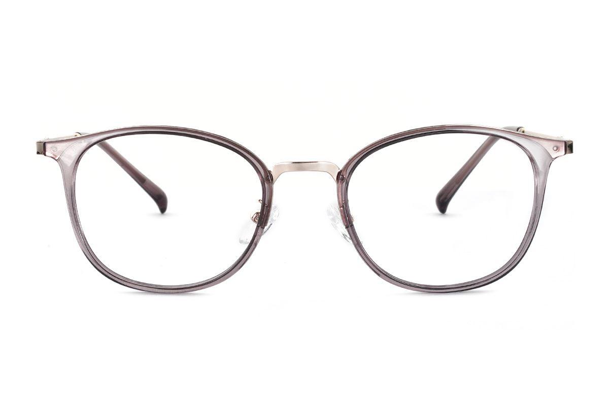 严选质感透明眼镜 FU3460-C82