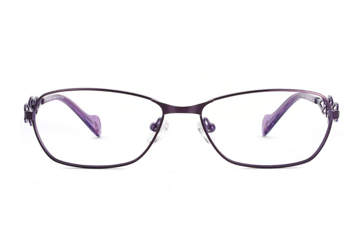 嚴選造型眼鏡框 XVO F1046-C32