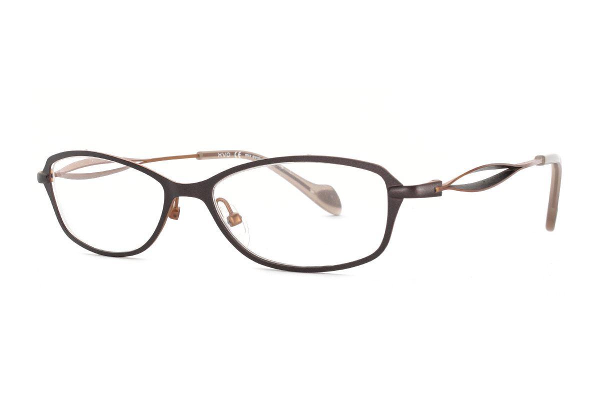 嚴選造型眼鏡框 XVO F1004-C41