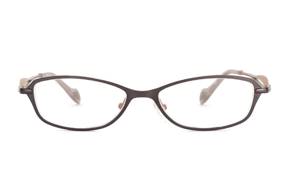 嚴選造型眼鏡框 XVO F1004-C42