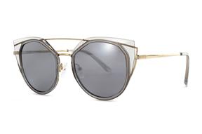 太陽眼鏡-嚴選淺水銀太陽眼鏡 FN6B12