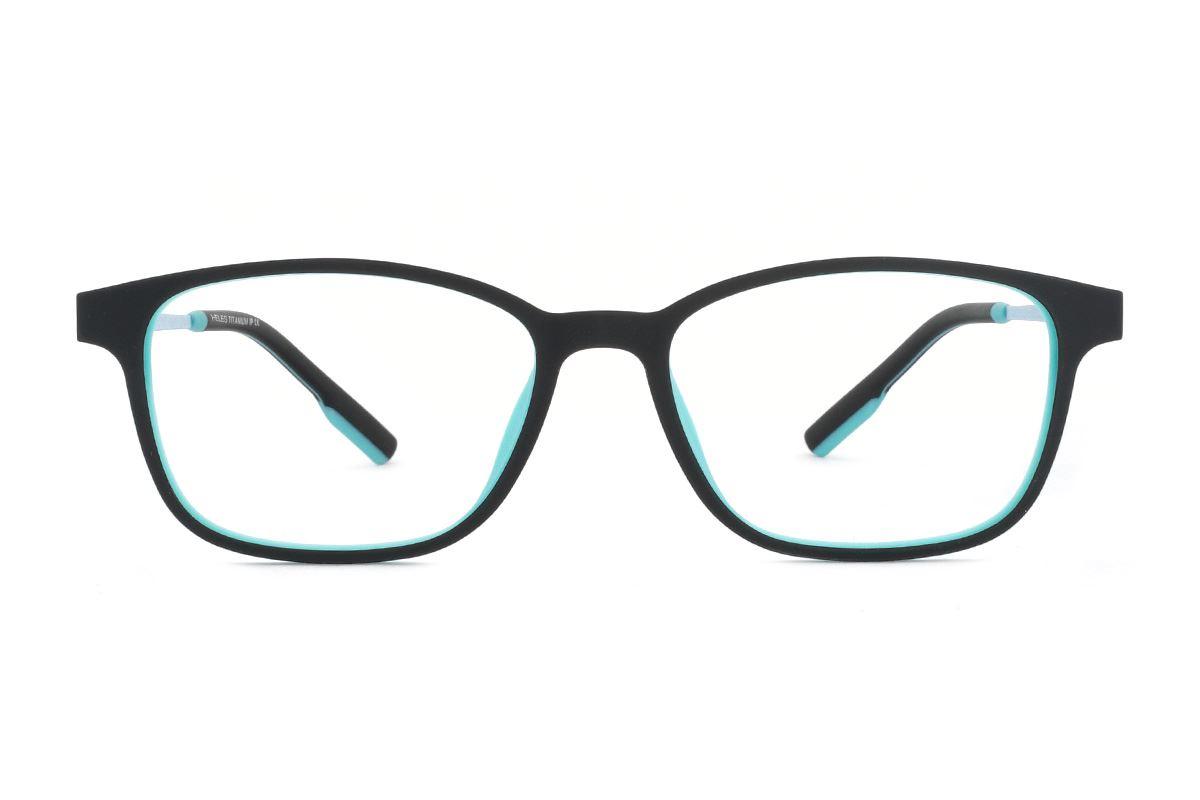 严选高质感弹性钛镜框 H8078-C1R2