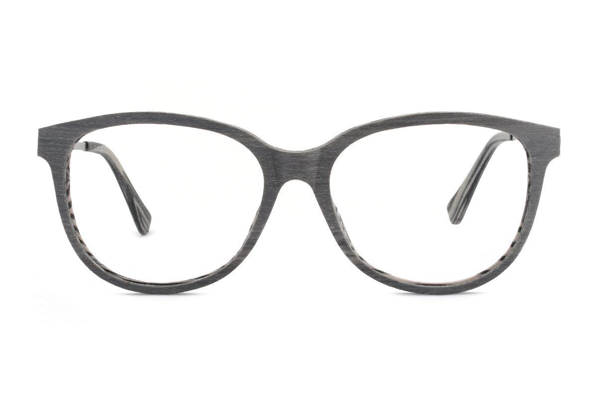 嚴選木質感眼鏡 M1985-SC52