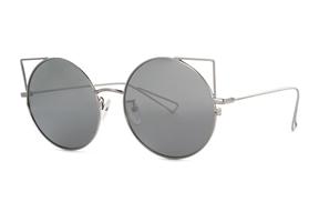 太陽眼鏡-嚴選淺水銀太陽眼鏡 FN7B90
