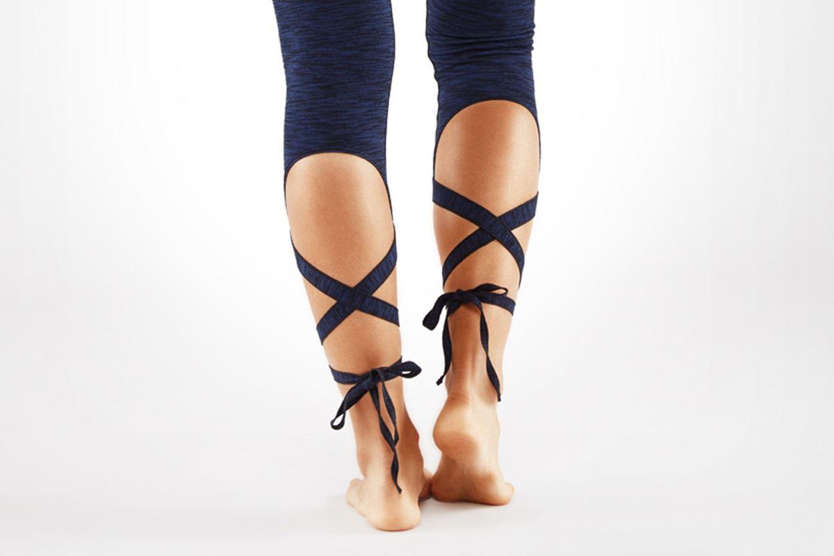 芭蕾舞孃Leggings(深藍)2