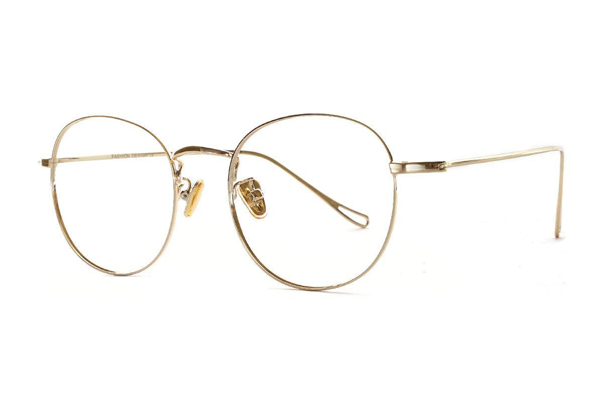 严选质感细框眼镜 FU8181-C71