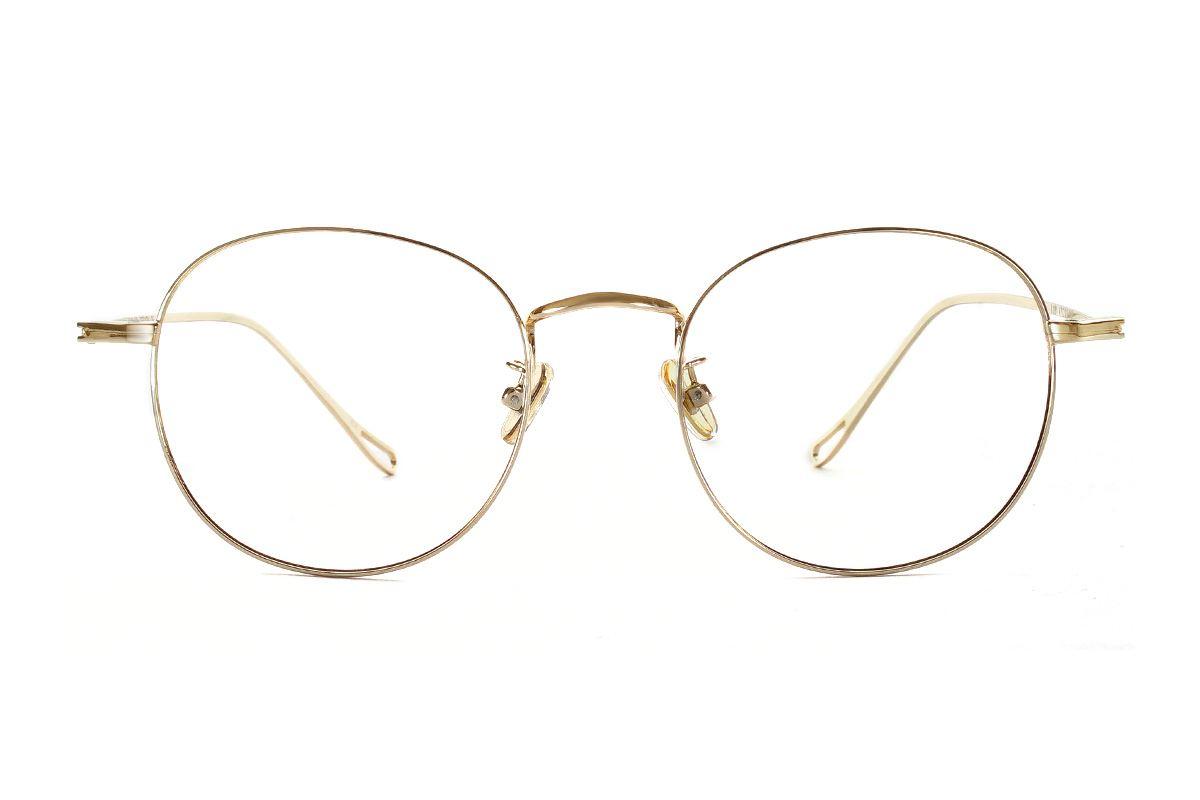 严选质感细框眼镜 FU8181-C72