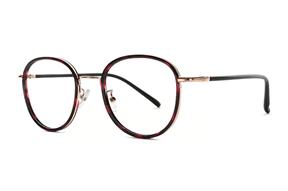 眼鏡鏡框-嚴選復古質感眼鏡 FS6268-C10