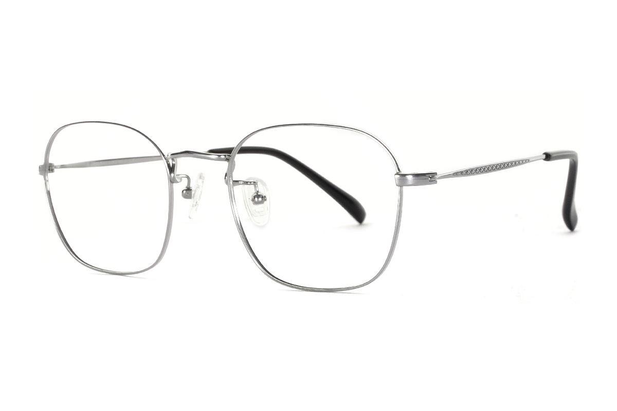 嚴選高質感純鈦眼鏡 521-C21