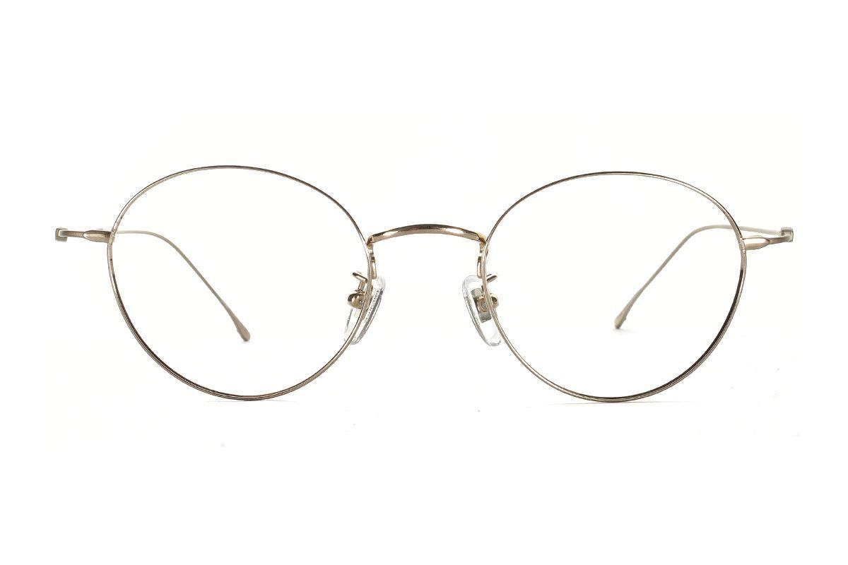 严选高质感纯钛眼镜  11421-C1 2