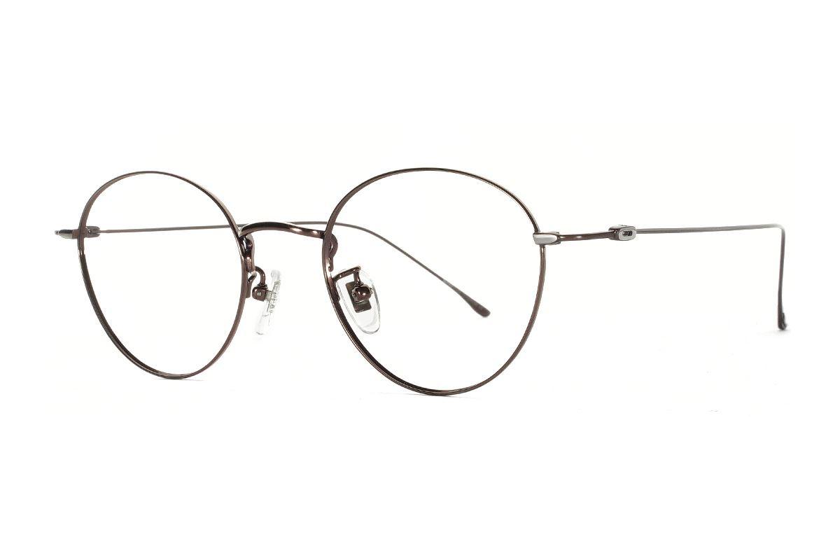 严选高质感纯钛眼镜  11421-C91