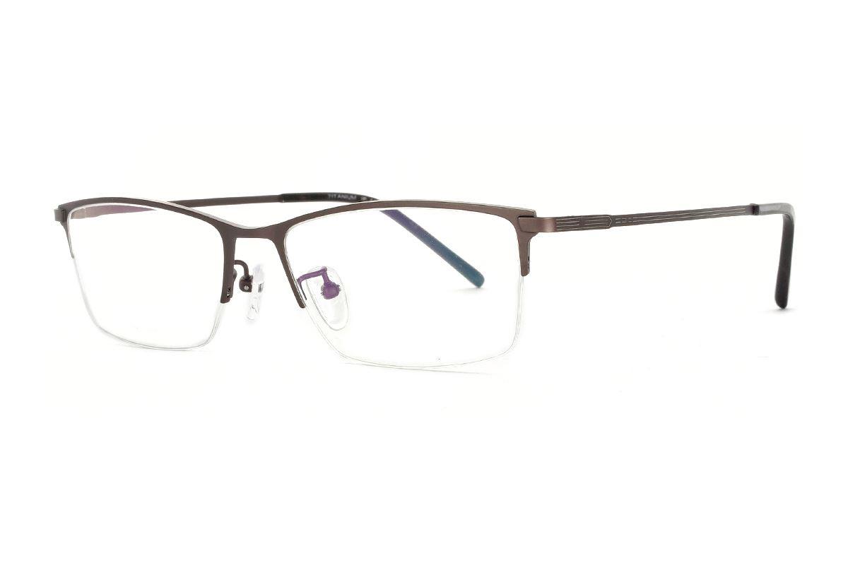 嚴選經典鈦眼鏡 H6311-C31