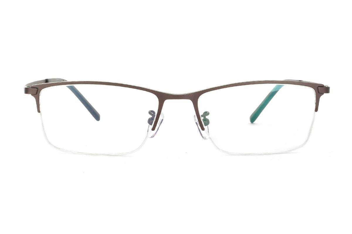 嚴選經典鈦眼鏡 H6311-C32