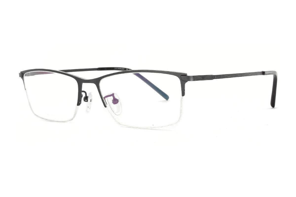 嚴選經典鈦眼鏡 H6311-C11