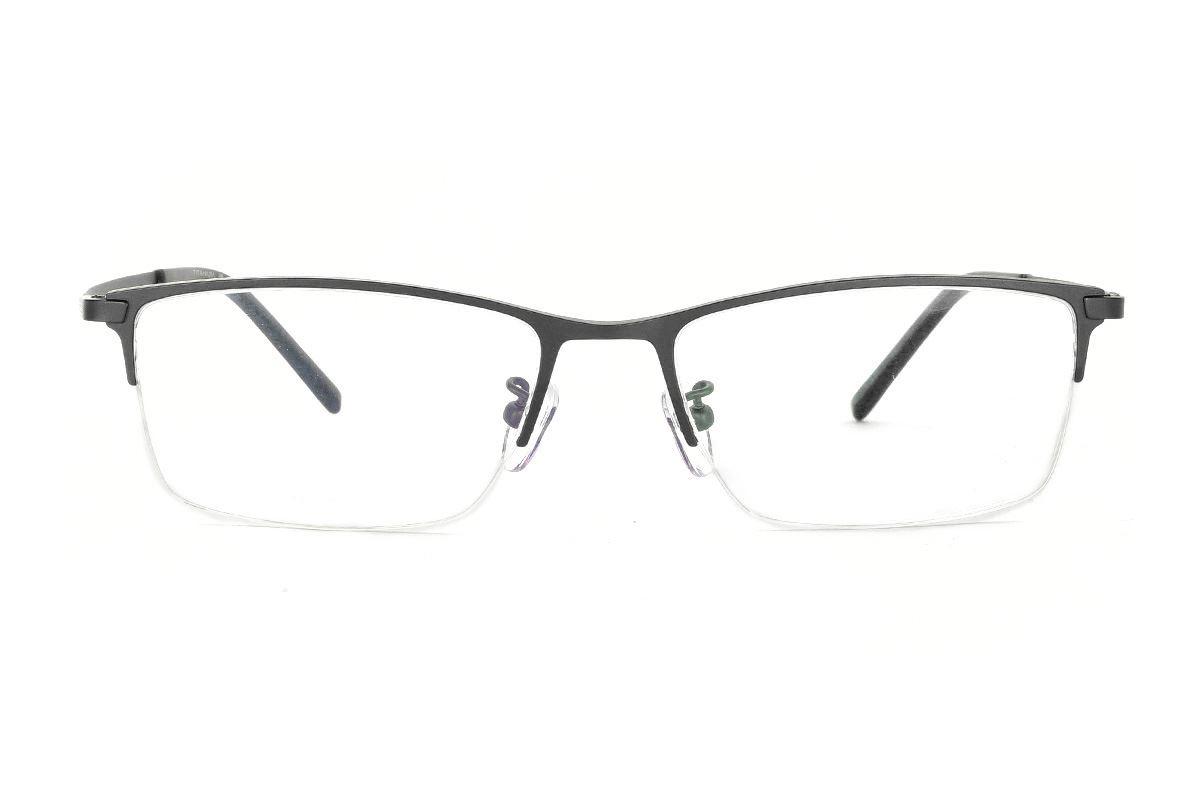 嚴選經典鈦眼鏡 H6311-C12