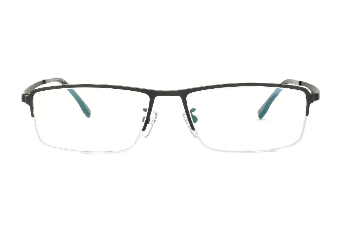 嚴選經典鈦眼鏡 H6310-C12