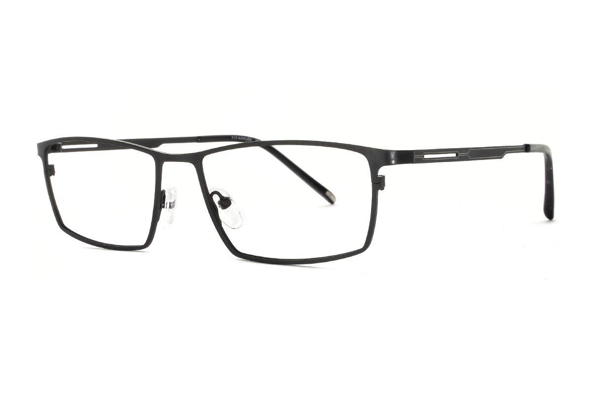 嚴選經典鈦眼鏡 H6253-C11