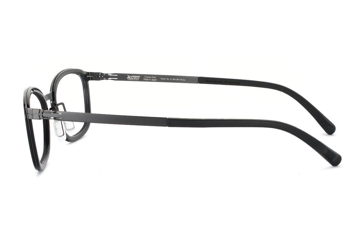 嚴選日製薄鋼眼鏡 FA2S-1507-C713
