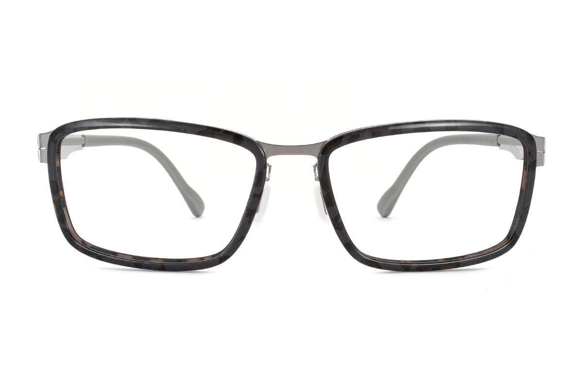 嚴選日製薄鋼眼鏡 FA2L-1602-C42