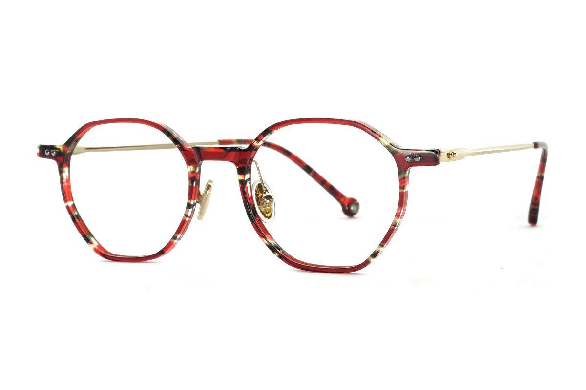 八角圖騰民俗風眼鏡 FSY2108-C51