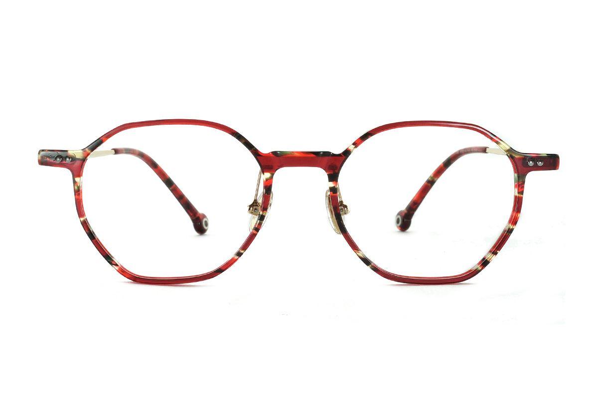 八角圖騰民俗風眼鏡 FSY2108-C52