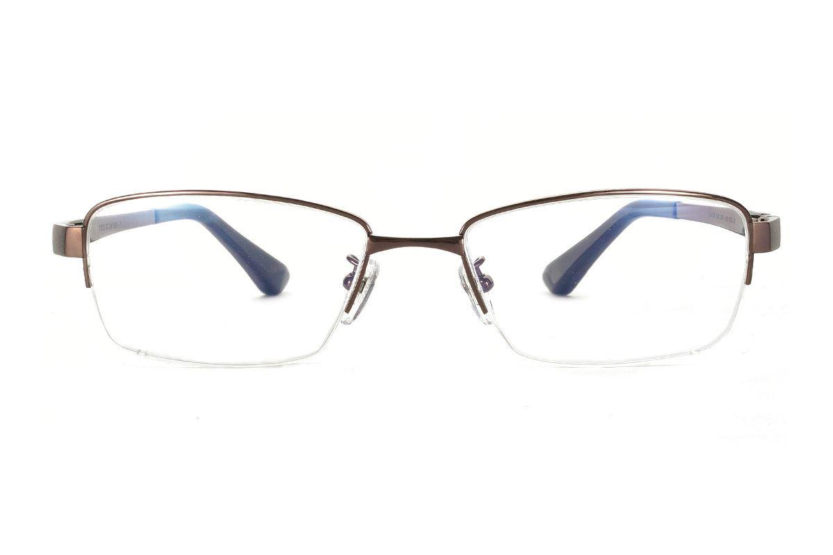严选高质感纯钛眼镜  11423-C92