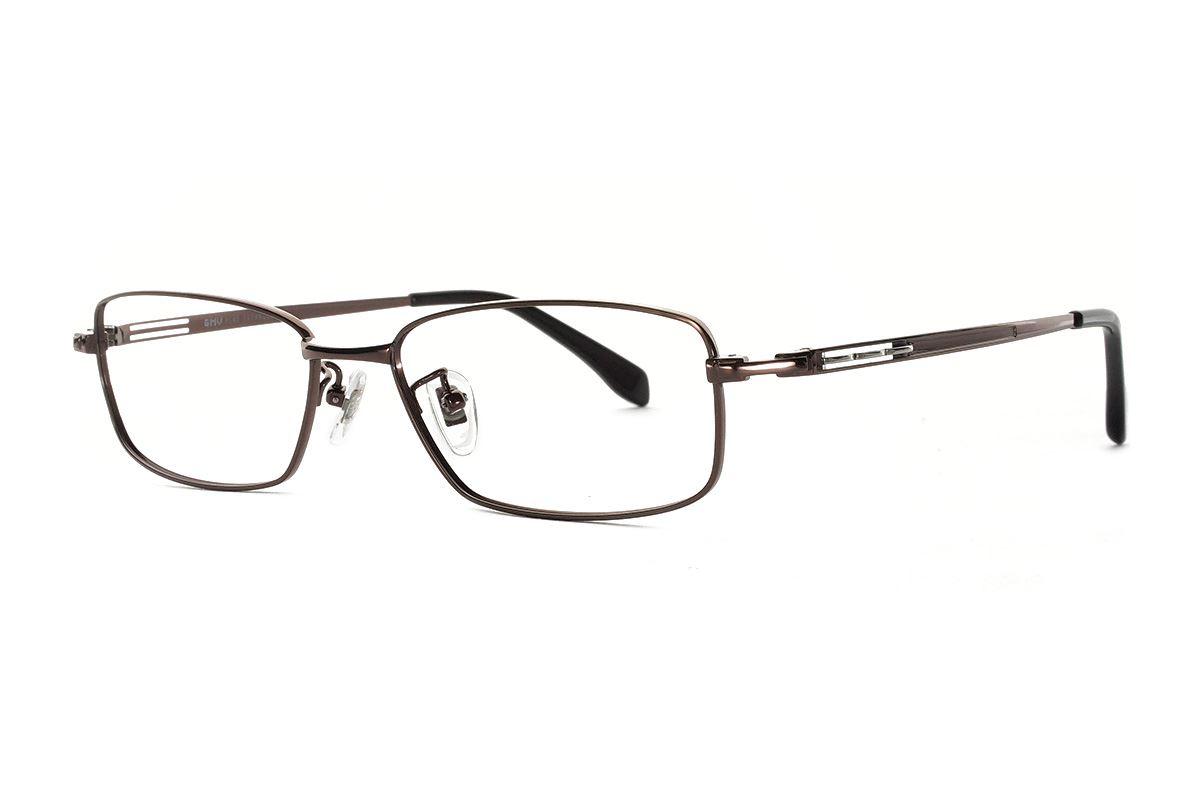 严选高质感纯钛眼镜  11425-C91