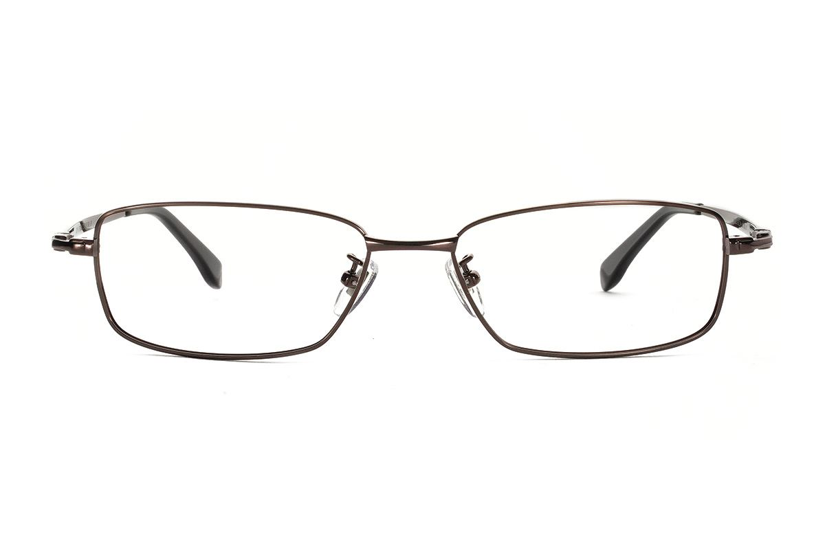 严选高质感纯钛眼镜  11425-C92