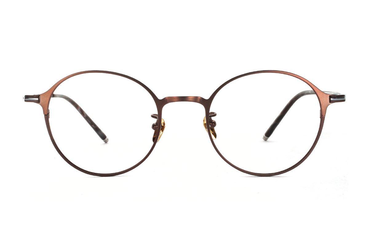 嚴選高質感鈦鏡框 FY80011-C102