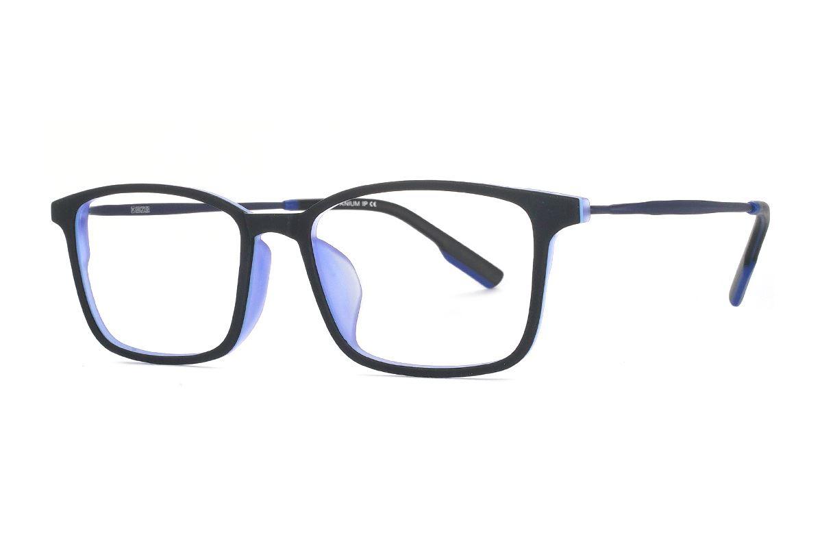 严选高质感弹性钛镜框 H8098-C1RD1