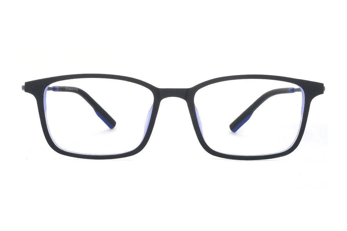 严选高质感弹性钛镜框 H8098-C1RD2
