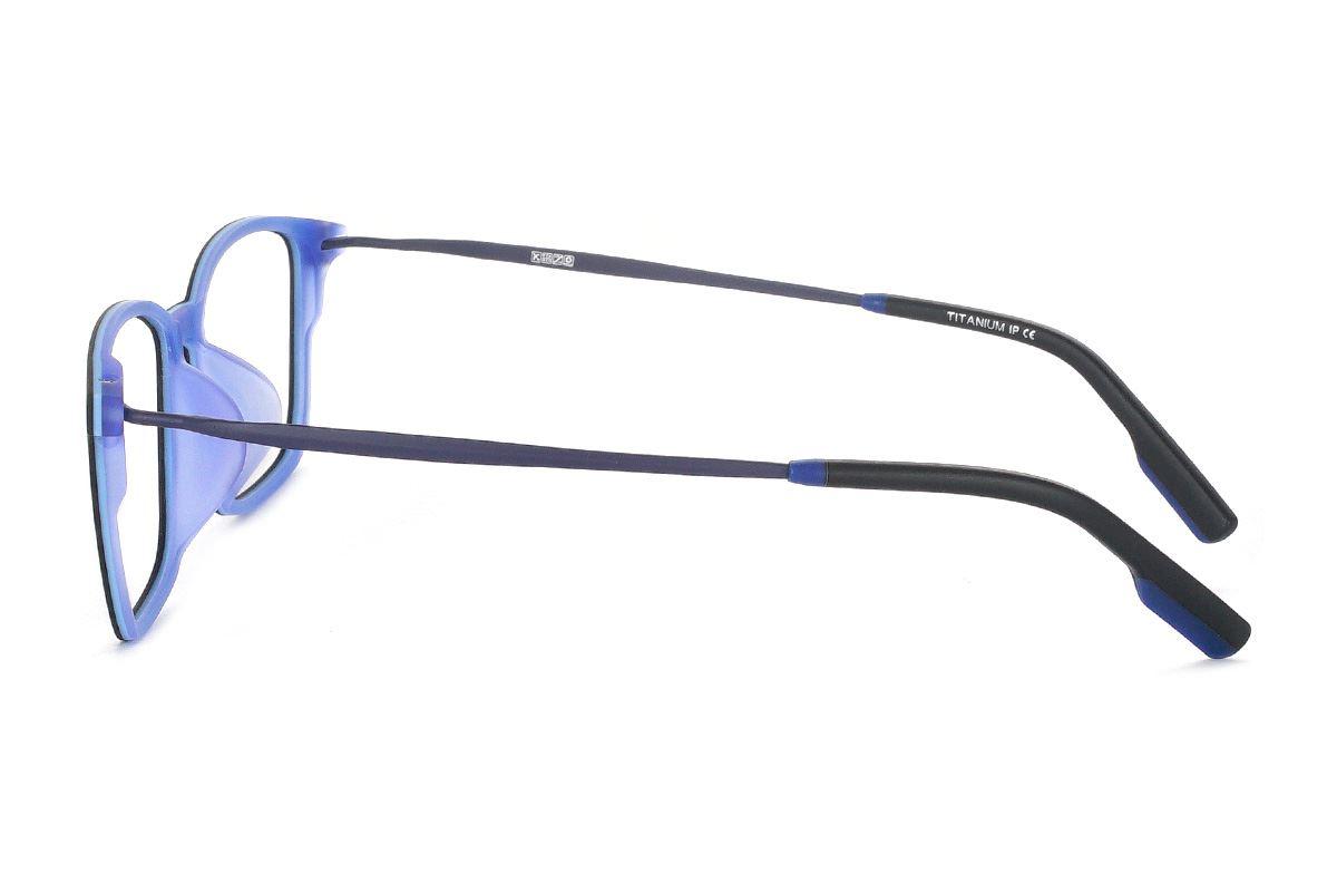 严选高质感弹性钛镜框 H8098-C1RD3