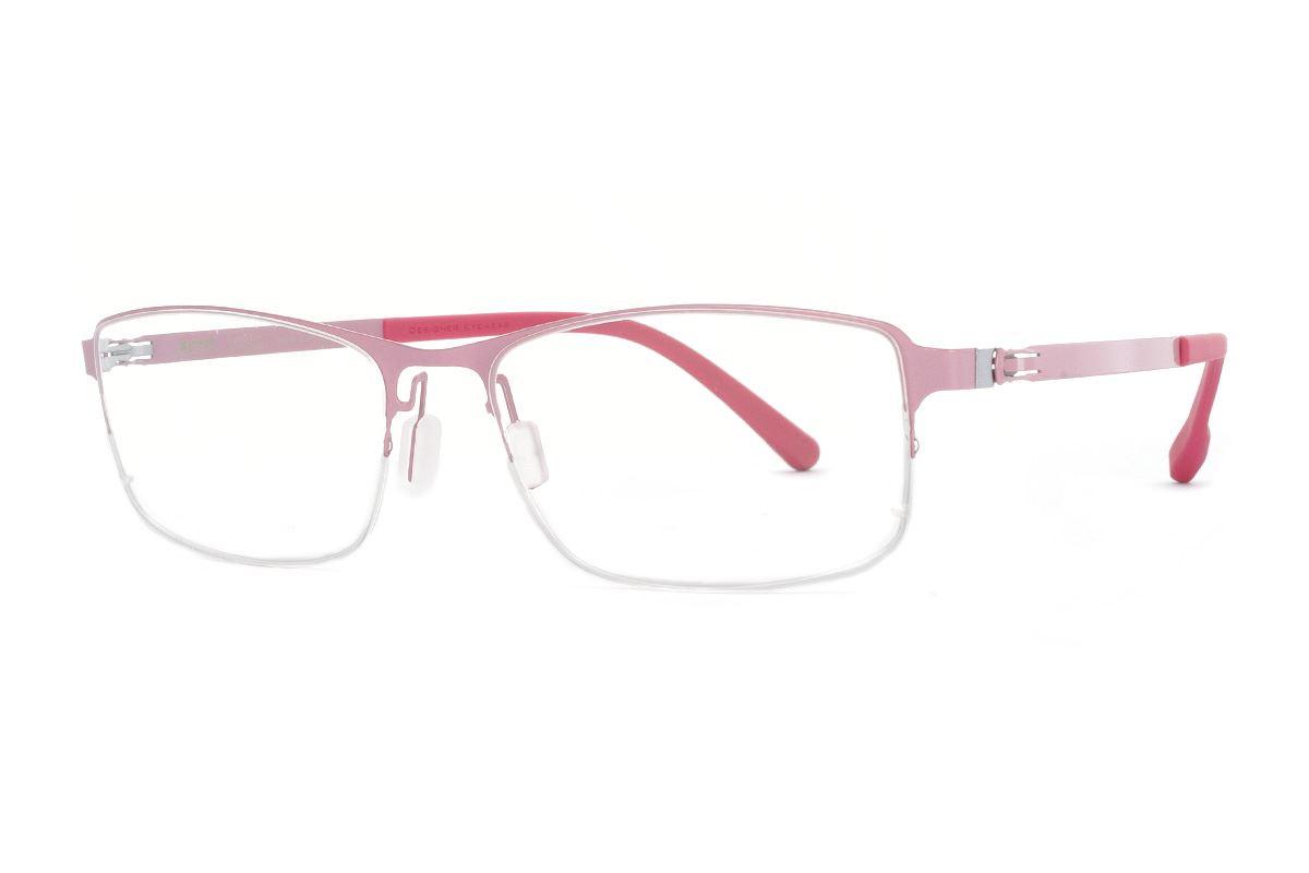 严选日制薄刚眼镜 FX2S-1604-C721