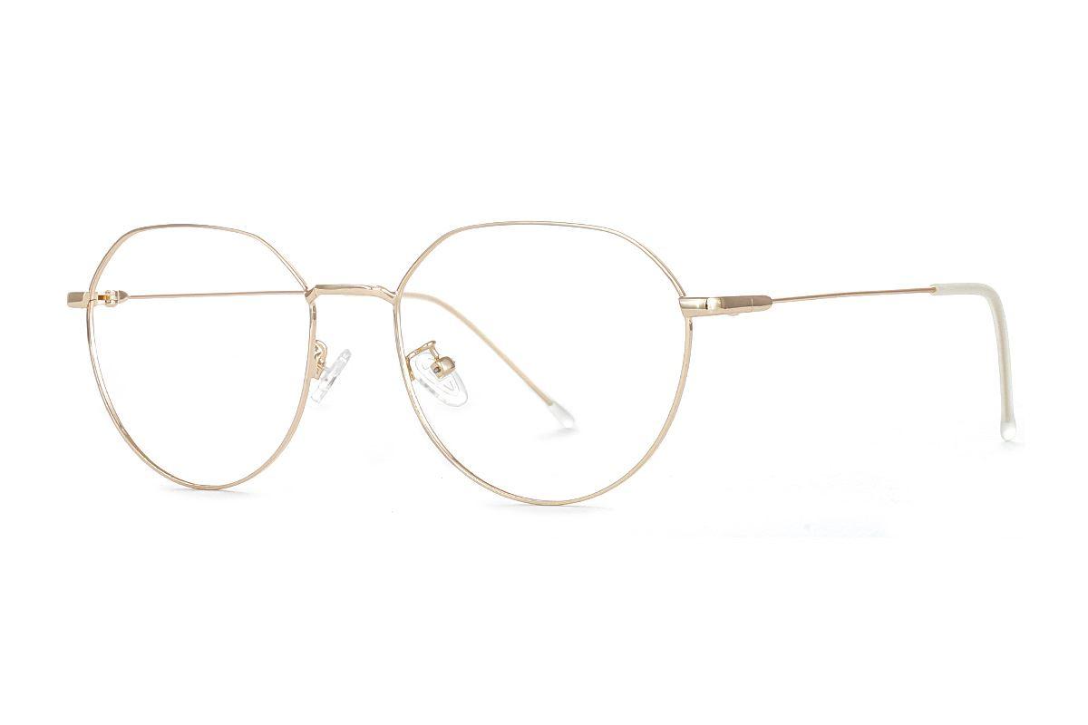 严选质感细框眼镜 FUBR9502-C91