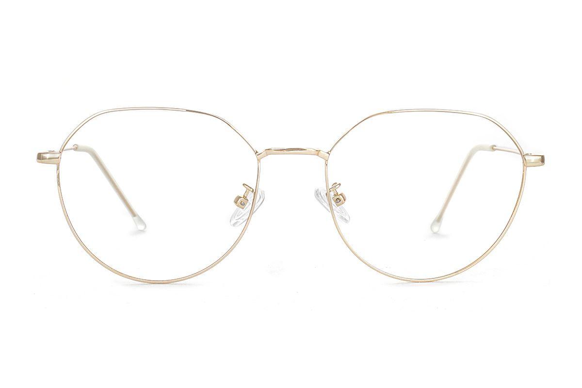 严选质感细框眼镜 FUBR9502-C92